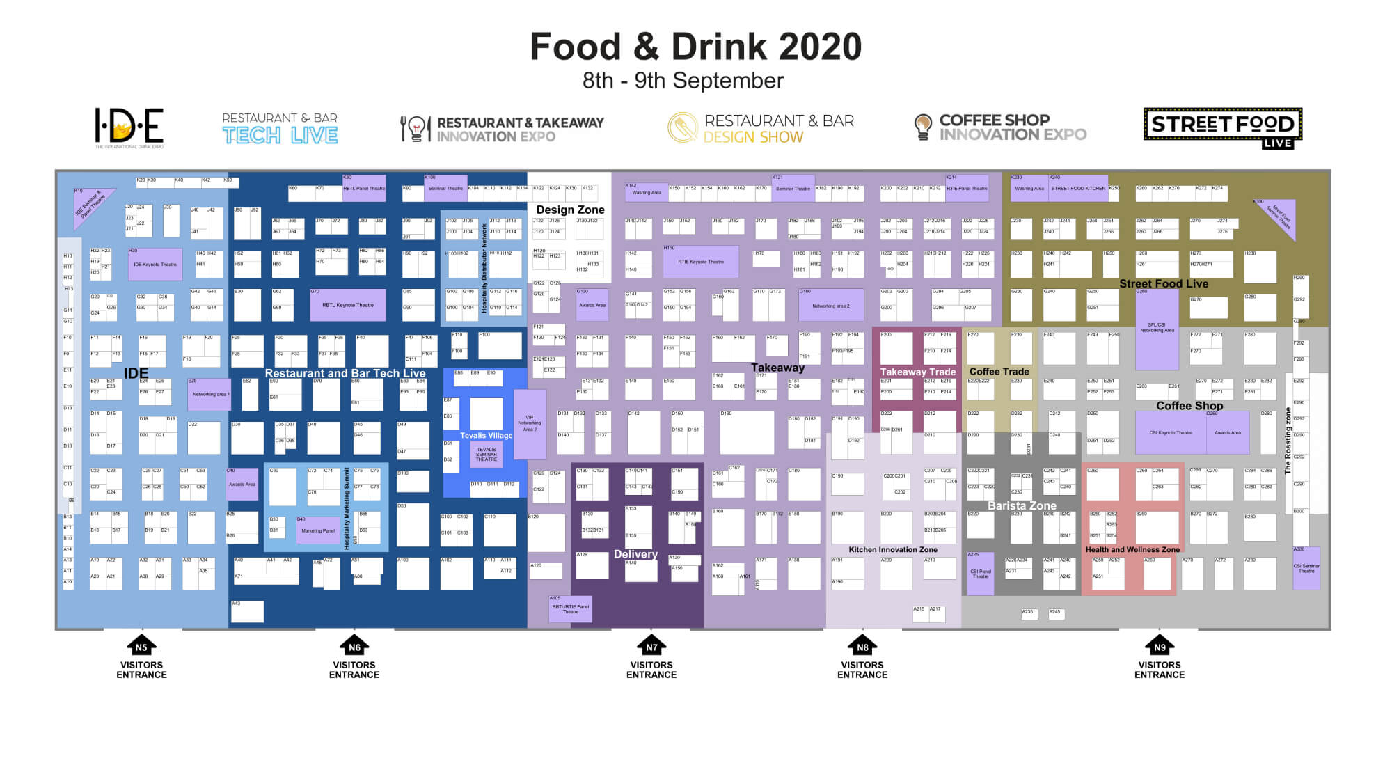 Food Entrepreneur floorplan