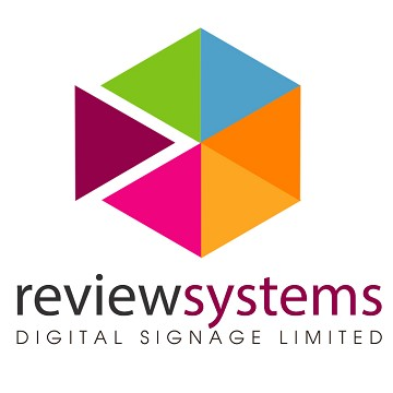 Review Systems Digital Signage: Exhibiting at the B2B Marketing Expo